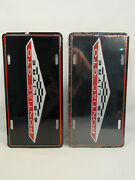 Two 1964-1974 Pontiac Gto 6.5 Litre License Plates Muscle Car Accessories