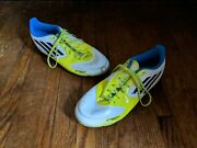 Adidas F50 Soccer Cleats Menand039s Size 6 Yellow Blue Black Stripes