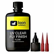 Loon Outdoors, Uv Clear Fly Finish Clear Flow, 2 Oz.