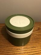 Vtg Green Thermos King-seeley Model 1155/3 Insulated Jar Food Container Clean
