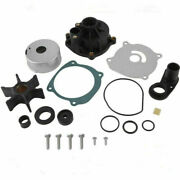 For Evinrude Johnson 85 88 90 110 112 115 Hp V4 Water Pump Kit With Housing Boat