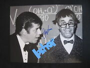 Rare Jerry Lewis In Person Signed Autograph Photo 11x14 At Movieland Wax Museum