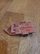 1969 Vintage Tootsie Toy Red Cycle Trailer Motorcycle Trailer Usa Diecast