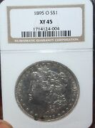 1895-o 1 Morgan Silver Dollar, Ngc Xf-45 - Great Quality New Orleans Mint