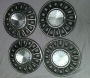 1968 Ford Mustang Hubcaps Wheel Covers /center Caps Wheels Fomoco