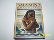Salamina Rockwell Kent Illustrated By The Author 1st Edition Signed 1934 H/cover