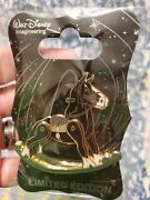 New D23 Walt Disney Imagineering Wdi Rocking Horse Angus From Brave Pin Le 300