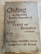 Outing Magazine - April 1889 Includes Incredible Vintage Ads