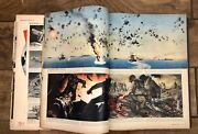 Vintage Rare Wwii Magazine Clippings Propaganda Advertising Pages Scrapbook