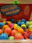 Vintage 6 Dinosaur Puzzles In Capsules Vending Machine Toy Prizes New Old Stock