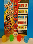 Vintage 12 Totem Pole Gumball Vending Machine Toys New Old Stock
