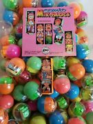 Vintage Comic Mix-blocs Charms Vending Machine Toy Prizes New Old Stock Lot Of 6