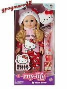 My Life As Hello Kitty 18 Poseable Doll Blonde Hair New Release