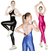 Leohex Women Jumpsuits Yoga Sexy One-piece Fitness Pant Bodysuits Tights Rompers
