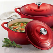 Tramontina Enameled Cast Iron Dutch Oven 2-pack Choice Of Colors