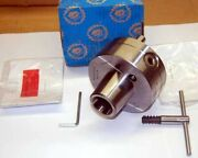 Bison-bial 5 Universal 5c Forged Steel Collet Chuck W/d1-4 Mounting