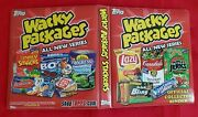 2010 Topps Wacky Packages All New Series Official Red Binder  @@ Rare @@