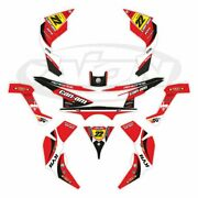 Can Am Renegade Graphics Kit 500 800r 800x 1000 Decals With Custom Rider Id