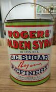Vintage Rogersand039 Golden Syrup Vancouver B C Advertising Tin