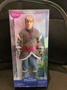 Disney Store 1st. Edition Authentic Frozen Kristoff 12 Classic Doll - Brand New