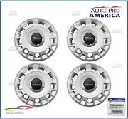 4 New Oem Mopar 2012-2019 Fiat 500 Fits 15 Steel Wheels Hub Cap 68078420ac