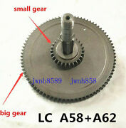 1set Bridgeport Mill Part Milling Machine Spindle Bull Gear Assembly A58 A62 New
