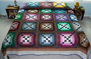 Amish Quilt For Sale Amish Log Cabin Quilt Amish King Quilt Amish Queen Quilt