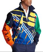 Polo Rlpc International Rowing And Cricket Jacket Xl Nwt Crest Pwing