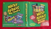 2012 Topps Wacky Packages Old School 4 Official Green Binder  @@ Rare @@