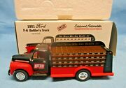 1951 Ford F-6 Bottlerand039s Truck First Gear Limited Edition Nitro Cola 19-0114