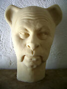 Bert Lahr Latex Head From Movieland Wax Museum Mold Cowardly Lion By Pat Newman