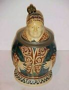 Antique German Character Monk Beer Stein By Merkelbach And Wick - Late 1800's