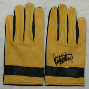 Jackie Stewart Signed - Autographed - Vintage Racing F1 Gloves Pair With Proof