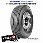 Kelsey Tire Inc. Goodyear F70/15 W/raised White Letter Perf. Series Tire And03970-and03974