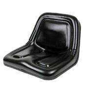 Black Seat Fits Power King And Economy Tractor 1614 1617 2414 2416 2417 2418
