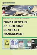 Fundamentals Of Building Contract Management By Uher, Thomas E., Davenport, ...