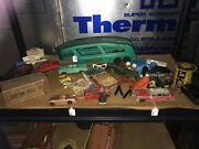 Vintage Toy Auto Hallaway Trailer And Misc Toy Cars/trucks