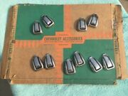 1953 54 55 Chevy 150 210 Bel Air Nos Accessory Coat Hanger Hooks One Pair