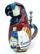Corona Character Beer Stein Parrot 1st Release Of 1st Edition 869 Of 5000 X110