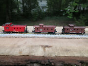 3 N Scale Northern Pacific T.andn.o. And A.t.s.f. Santa Fe Caboose