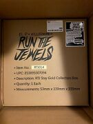 Run The Jewels Rtj Record Store Day Rsd Stay Gold Collectors Box Unopened