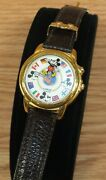 Vintage Lorus Quartz Disney Mickey Mouse Itand039s A Small World Musical Watch Read
