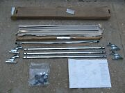 Nos Vw Volkswagen Roof Luggage Rack Assembly Jetta Scirocco Audi 4000 5000 Bus