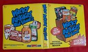2010 Topps Wacky Packages Old School 2 Official Yellow Binder  @@ Rare @@