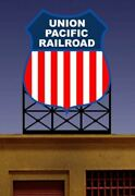 Micro Structures O N Ho Scale Billboard Up   Bn   881801