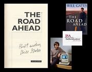 Bill Gates Autographed Inscribed Signed Book Computer Microsoft The Road Ahead