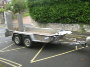 Ifor Williams Gh94bt Braked Twin Axle Digger/plant/machinery Trailer 9and039 X 4and039 6