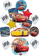 Disney Cars Party Supplies Ultimate Birthday Balloon Bouquet Decorations