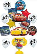 Disney Cars Party Supplies Ultimate 1st Birthday Balloon Bouquet Decorations