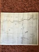 Antique Reproduction Of An 1806 Map Of Nottingham, Nh Hudson By Solomon Osgood